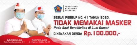 Intruksi Protokol Kesehatan Oleh Bupati Kab. Buleleng